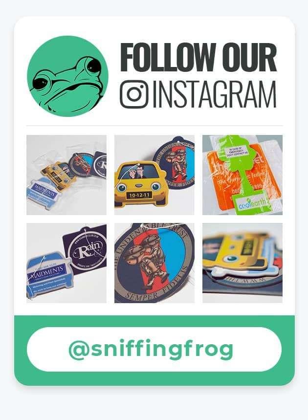Sniffing Frog Instagram